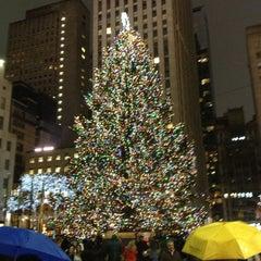 Photo taken at 30 Rockefeller Plaza by Casey H. on 12/10/2012