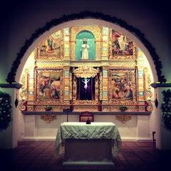 Photo taken at Iglesia La Niña María by Juan Sebastian L. on 12/23/2012