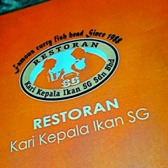 Photo taken at Restoran Kari Kepala Ikan SG by Pe4RL I. on 10/25/2012