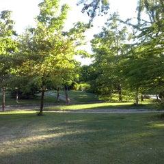 "Photo taken at Parque de ""La Ribota"" by Pilar P. on 6/7/2014"