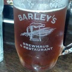 Photo taken at Barley's Brewhaus by Mathew M. on 8/22/2013