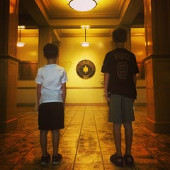 Photo taken at Memorial Hall by Adam D. on 11/26/2014