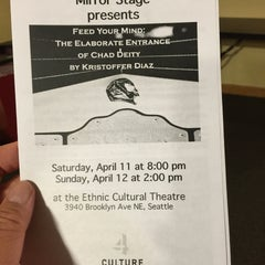 Photo taken at Ethnic Cultural Theater by Jason C. on 4/12/2015