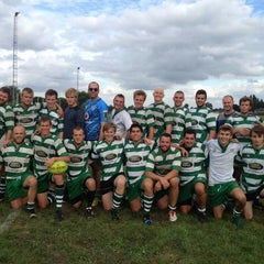 Photo taken at Rugby Hasselt by Meuwis N. on 10/2/2013