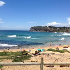 Photo taken at Mona Vale Beach by Sal P. on 4/28/2013