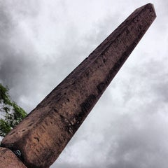 Photo taken at The Obelisk (Cleopatra's Needle) by Milo S. on 5/25/2013