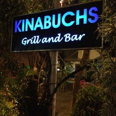 Photo taken at Kinabuch's Bar and Grill by Wensez Paul B. on 5/1/2013