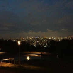 Photo taken at 旭山記念公園 by ブラウン on 6/24/2013