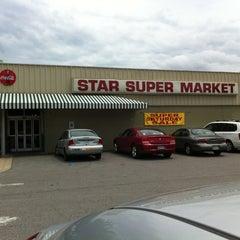 Photo taken at Star Super Market by Jamie 'Boomer' H. on 5/22/2013