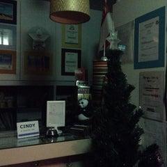 Photo taken at River City Inn Hostel by Pavel K. on 1/5/2014