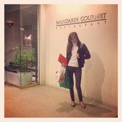 Photo taken at Mandarin Gourmet by ShopSaveSequins on 1/31/2013