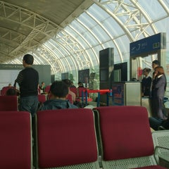Photo taken at Ningbo Lishe International Airport (NGB) 宁波栎社国际机场 by Ami K. on 4/28/2013