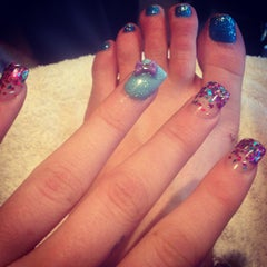 Photo taken at La Belle Nails by Erika D. on 1/8/2013