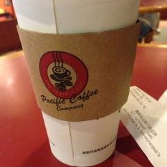 Photo taken at Pacific Coffee 太平洋咖啡 by Lokka C. on 2/1/2013