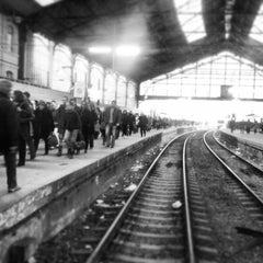 Photo taken at Gare SNCF de Paris Saint-Lazare by Wee_bey on 3/19/2013