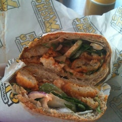 Photo taken at Which Wich? Superior Sandwiches by Marisa C. on 1/10/2013