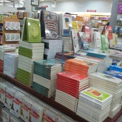 Photo taken at Gramedia by Rizky H. on 10/21/2013