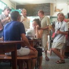 Photo taken at A l'Abri des Coups de Mer by François-Xavier L. on 7/17/2014
