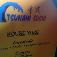 Photo taken at Tsunami Sushi by Sean H. on 7/26/2013