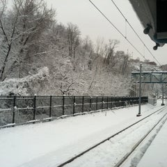Photo taken at NJT - Port Imperial Light Rail Station by Ricky C. on 2/3/2014
