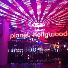 Photo taken at Planet Hollywood Resort & Casino by Emerson P. on 12/31/2012