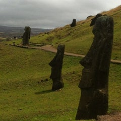 Photo taken at Isla de Pascua | Rapa Nui by Gleiber R. on 9/19/2012