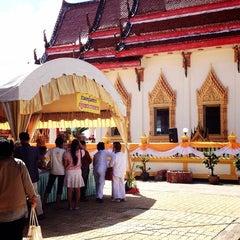 Photo taken at วัดประชุมโยธี อารามหลวง by tuttu k. on 11/1/2013