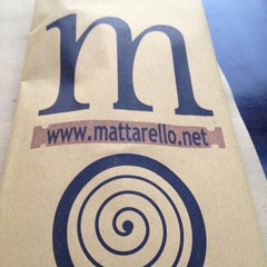 Photo taken at MATTARELLO - Pizzeria Forno a Legna by Giovanni I. on 6/21/2014