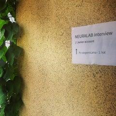 Photo taken at Neuralab & Transmeet.Tv by Kreshomir on 8/13/2014