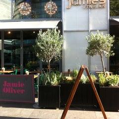 Photo taken at Jamie's Italian by Bianca T. on 10/7/2012