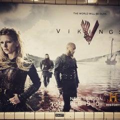 Photo taken at MTA Subway - East Broadway (F) by Peijin C. on 2/9/2015