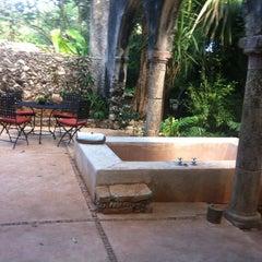 Photo taken at Hacienda Santa Rosa by Miguel A. Gallardo on 12/22/2012