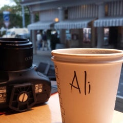 Photo taken at Starbucks by Ali A. on 6/23/2014