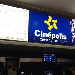 Photo taken at Cinépolis by Alejandra K. on 7/13/2013