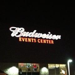 Photo taken at Budweiser Events Center by J'Von J. on 12/1/2012
