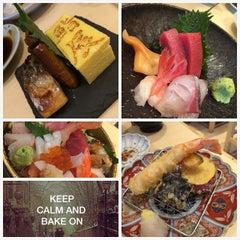Photo taken at Sushi Shin 鮨辰日本料理 by Jasnow on 5/1/2015