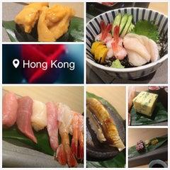 Photo taken at Sushi Shin 鮨辰日本料理 by Jasnow on 4/7/2015