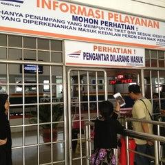 Photo taken at Stasiun Medan by Dwi Armalia S. on 12/26/2012