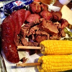 Photo taken at Hard Eight BBQ by Glad A. on 11/3/2012