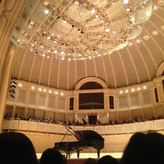 Photo taken at Symphony Center (Chicago Symphony Orchestra) by Daniel A. on 6/2/2013