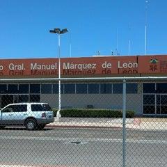 Photo taken at Aeropuerto Manuel Márquez de León (LAP) by Carlos C. on 6/1/2013