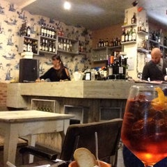 Photo taken at Caffe' Dei Pazzi by ⚓️ Carlo F. on 11/16/2013