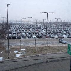 Photo taken at O'Hare - Economy Parking Lot E by Deborah B. on 1/17/2014