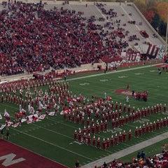 Photo taken at Memorial Stadium by Kyle M. on 11/2/2013