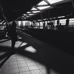 Photo taken at Brentwood Town Centre SkyTrain Station by Jeremy P. on 3/12/2014