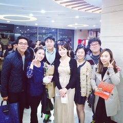 Photo taken at 세종문화회관 M 씨어터 (Sejong Center M Theater) by Sungbin P. on 10/27/2014