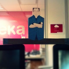 Photo taken at eYeka HQ by Nicolas B. on 11/21/2013