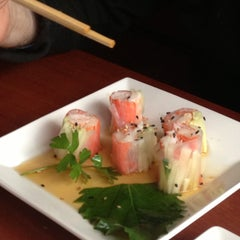 Photo taken at Sushi Mura by Susan D. on 5/11/2013