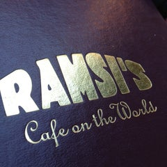 Photo taken at Ramsi's Cafe On the World by Nathan S. on 7/20/2013