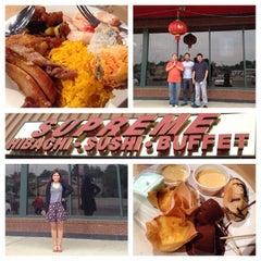 Photo taken at Supreme Hibachi Buffet by Anna C. on 5/30/2014